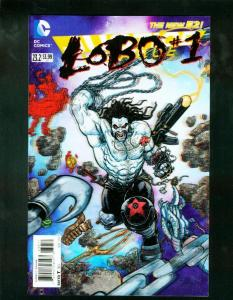 JUSTICE LEAGUE #23.2 2013 LOBO 3-D COVER NEW 52 HIGH GRADE NM
