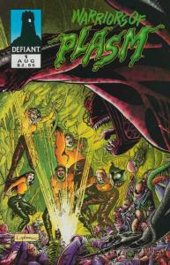 Warriors of Plasm #1 VF/NM; Defiant | save on shipping - details inside