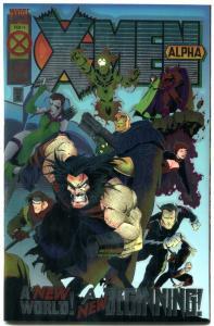 X-Men Alpha #1 1995- 1st Dark Beast- NM-