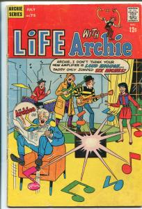 Life With Archie #75 1968-Betty-Veronica-The Archies rock band-G