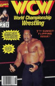 WCW World Championship Wrestling #7 (Newsstand) FN; Marvel | save on shipping -