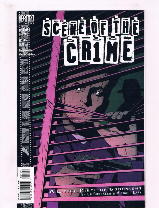 Scene Of The Cr1me # 1 Of 4 VF/NM DC Vertigo Comic Book Little Piece Of Good J31