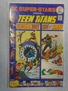 DC Super-Stars #1 presents Teen Titans 4.0 VG (1976)