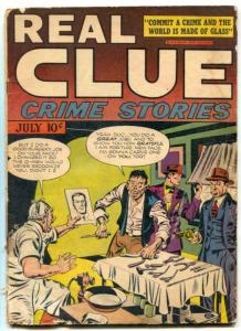 Real Clue Crime Stories Vol. 2 #5 -Kirby cover- Plastic Surgery G-