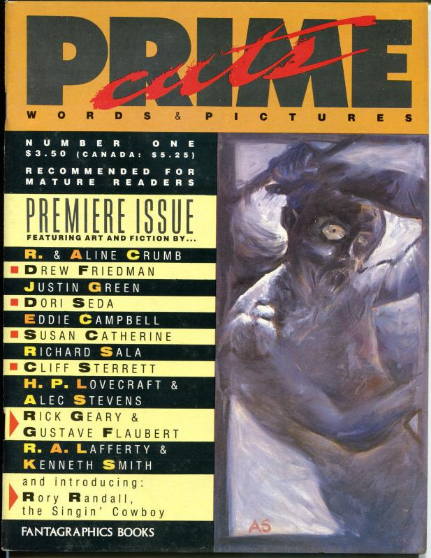 PRIME CUTS Words & Pictures #1 and #3, VF, Magazine, 1987, 2 mags, LoveCraft