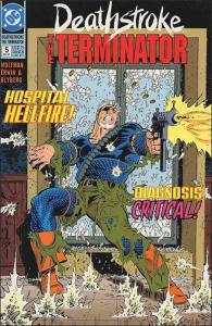 DC DEATHSTROKE, THE TERMINATOR #5 NM-