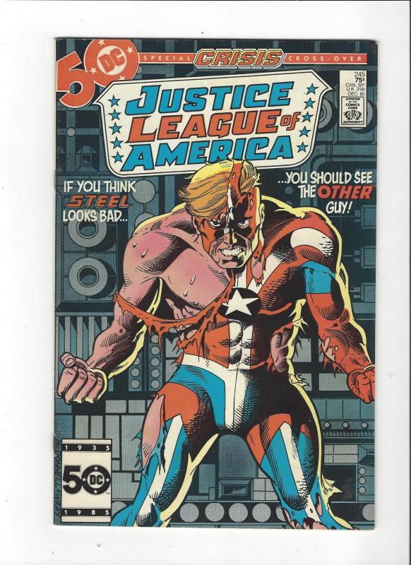 Justice League Of America # 1st Series DC Comics Copper Age  VF