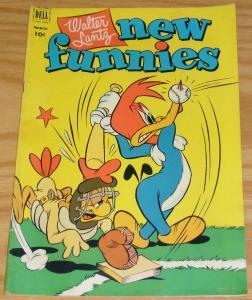 Walter Lantz New Funnies #181 FN- march 1952 woody woodpecker - baseball cover