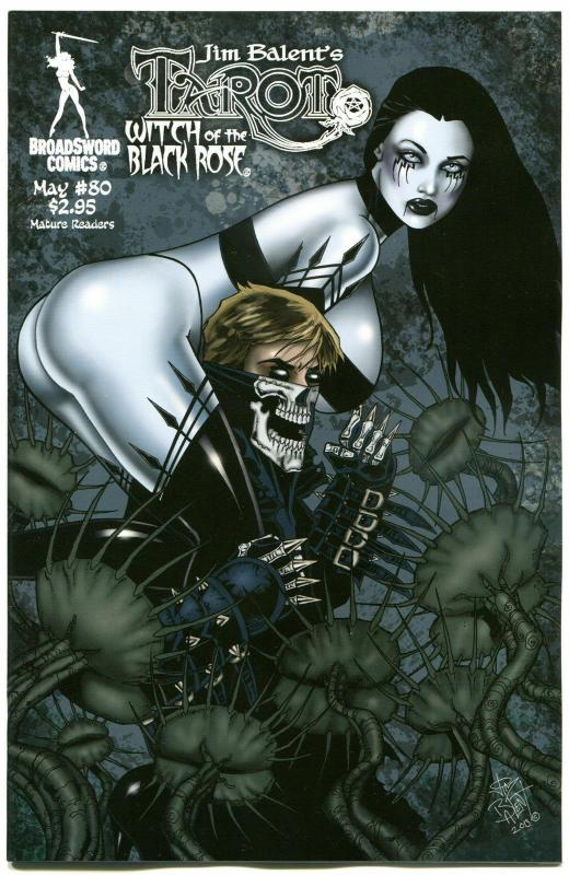 TAROT WITCH of the Black Rose #80, Jim Balent, NM, Holly, more in our store,  A