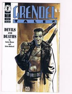 Grendel Tales Devils And Deaths # 1 Dark Horse Comic Books Hellboy Predator! S56