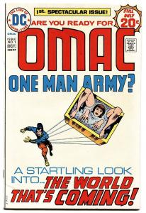 OMAC #1-1974-JACK KIRBY-DC-HIGH GRADE FIRST ISSUE