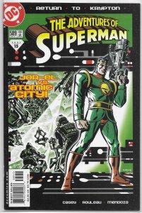 Adventures of Superman   vol. 1   #589 VF (Return to Krypton)