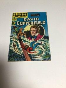 Vintage CLASSICS ILLUSTRATED Comic Book #48 DAVID COPPERFIELD Fn Fine 6.0
