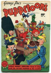 George Pal's Puppetoons #12 1947-CULT CLASSIC-BLACK HERO VG