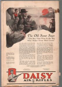 American Boy 5/1923-Schoonover cover-adventure-pulp fiction-classic ads-G