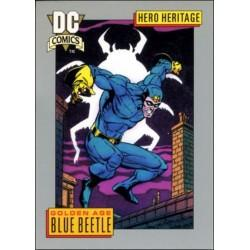 1991 DC Cosmic Cards - GOLDEN AGE BLUE BEETLE #1