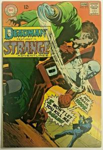 STRANGE ADVENTURES#212 VG/FN 1968 DC SILVER AGE COMICS
