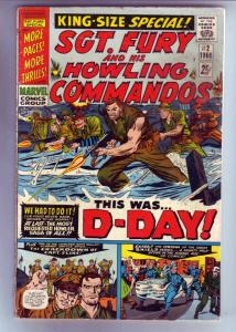 Sgt. Fury and His Howling Commandos #2 (Jul-63) VG Affordable-Grade Sgt. Fury...