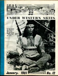 Under Western Skies #12 1/1981-Jay Silverheels-Monte Hale-B-Westerns-VG