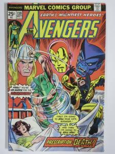 AVENGERS 139 G Sept. 1975 COMICS BOOK