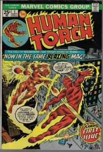 Human Torch #1 (Marvel, 1974)