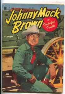 Johnny Mack Brown #2 1950- Dell-B-western  film star photo covers-Jesse Marsh...
