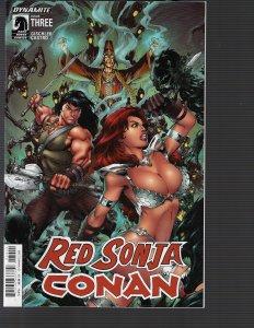 Red Sonja Conan #3 (Dynamite, 2015)