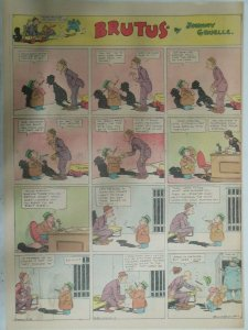 Brutus Sunday Page by Johnny Gruelle from 3/13/1932 Full Page Size