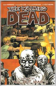 The Walking Dead TPB Vol 20 All Out War Part One (Image Comics) - New (NM)