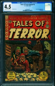 TALES OF TERROR ANNUAL #2 CGC 4.5-1952-RARE E.C. COMIC BOOK 0354042002
