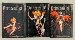 Princess Ai Vol 1-3 Full Set (TokyoPop, 2004) Misaho Kujiradou, Courtney Love