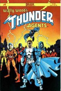 Wally Wood's T.H.U.N.D.E.R. Agents #1, NM + (Stock photo)