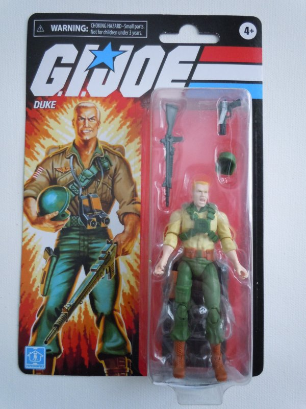 Hasbro G.I. Joe Retro Collection Duke 3.75 Inch