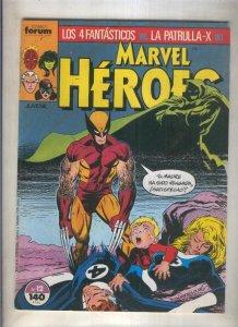 Marvel Heroes numero 12: Los 4 Fantasticos vs La Patrulla X  (numerado 2 en t...