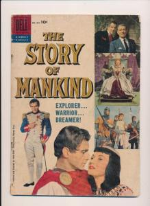 DELL Comics Movie Classic The STORY Of MANKIND  #851 Good- 1957 (B21)