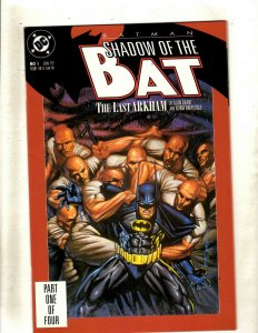 12 Batman Shadow of the Bat DC Comic Books #1 2 3 4 5 6 7 8 9 10 11 12 GK58