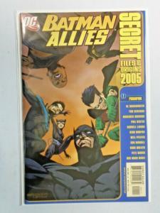 Batman Allies Secret Files and Origins #1 8.0 VF (2005)