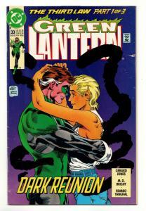 Green Lantern #33 (DC, 1992) VG-
