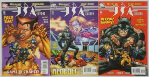 JSA Classified: Double or Nothing #1-3 VF/NM complete story wildcat vixen #14-16