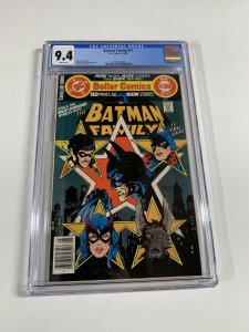 Batman Family 17 Cgc 9.4 White Pages Dc Comics 2052519004