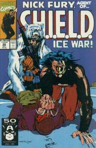 Nick Fury: Agent of SHIELD (1989 series) #28, NM + (Stock photo)
