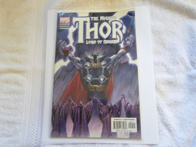 02 MARVEL COMIC THE MIGHTY THOR LORD OF ASGARD # 54