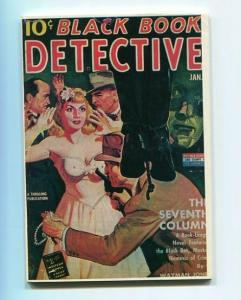 BLACK BOOK DETECTIVE-REPRODUCTION-LIMITED EDITION-THE SEVENTH COLUMN