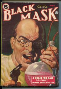 BLACK MASK 03/1944-POPULAR-MAD DOCTOR-CHAMPION-HARD BOILED PULP-B FISCHER-fn+