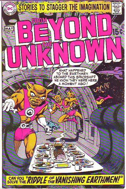 From Beyond the Unknown #4 (May-70) VF+ High-Grade