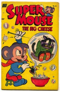 Supermouse #25 1953- Golden Age Funny Animal comic VG