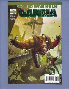 World War Hulk Gamma Corps #4 VG Marvel 2008