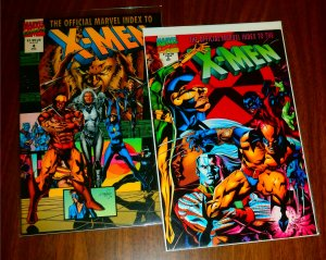 Official Marvel Index to the X-Men   vol. 2   #2,4 (set of 2)