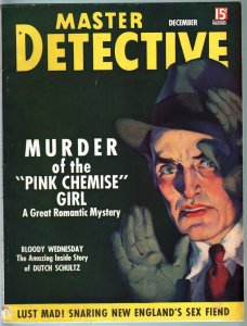 MASTER DETECTIVE DEC 1936-VG-MURDER IN THE SUBWAY-TRUE CRIME MAG VG