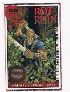 Rot & Ruin # 2 NM 1st Print Variant Cover IDW Comic Book Maberry Vargas Arce S67
